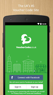VoucherCodes.co.uk - screenshot thumbnail