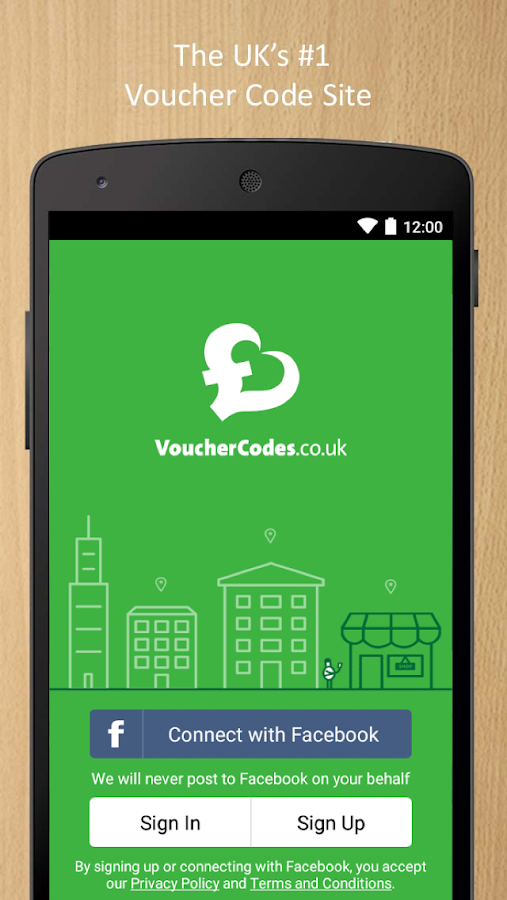 VoucherCodes.co.uk- screenshot