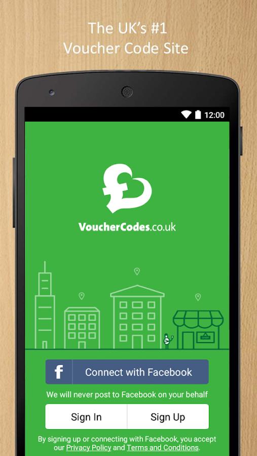 VoucherCodes.co.uk - screenshot