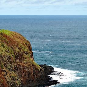 Kilauea Point Lighthouse, Kauai Island, Hawaii by Sheri Fresonke Harper - Landscapes Waterscapes ( kauai island, pacific ocean, lighthouse, kilauea point, hawaii,  )