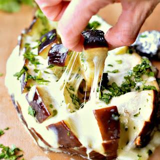 Low Carb Cheesy Pull-Apart Garlic Bread.