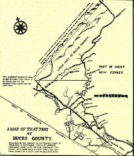 Photo: Antique map showing the route.