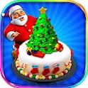 Christmas Cake Designer Chef icon