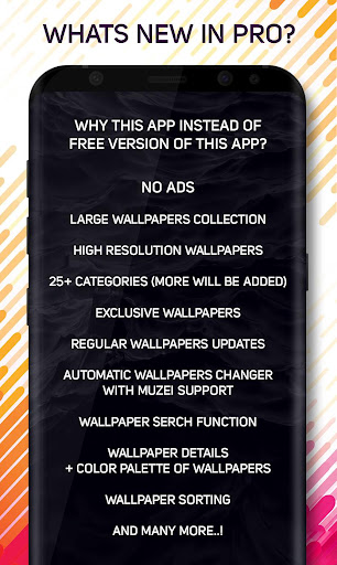 Screenshot for Amoled Pro Wallpapers in Hong Kong Play Store