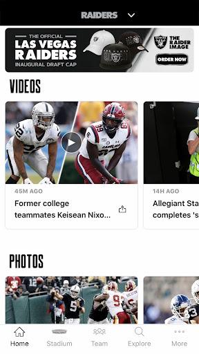 Raiders + Allegiant Stadium screenshot 2