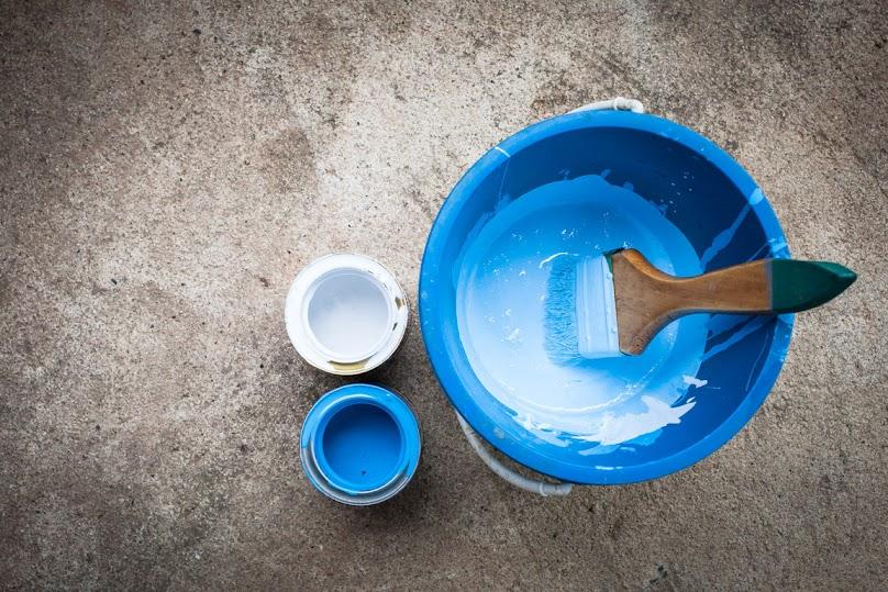 Przygotowanie farb do malowania