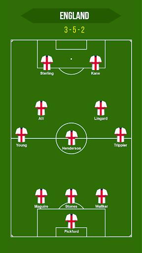 Football Squad Builder - Strategy, Tactic, Lineup 2.4.5 Screenshots 8