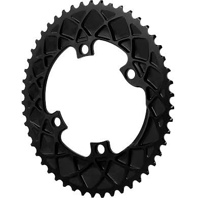 Absolute Black Dura-Ace 9100 Premium Oval Road Outer Chainring