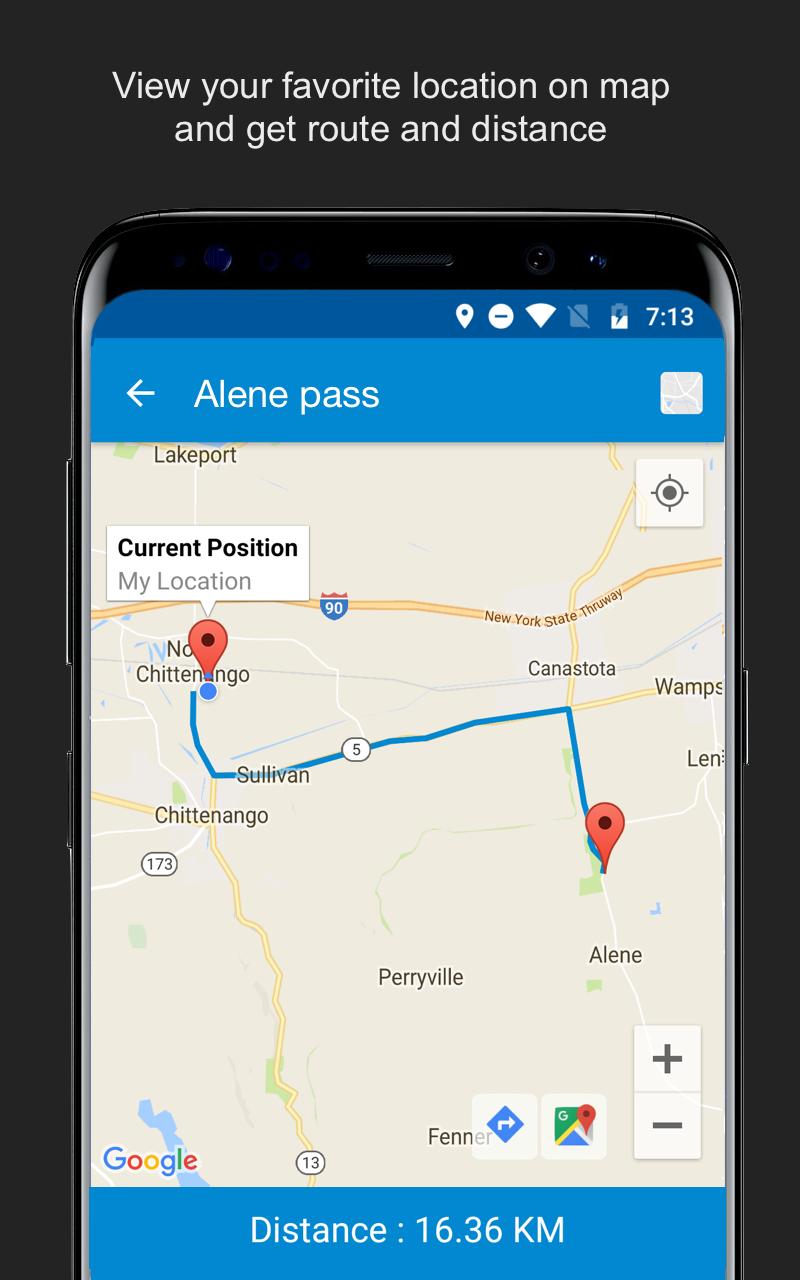 Save Location GPS Screenshot 9