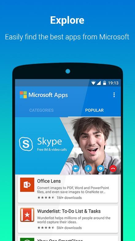 Microsoft lança loja de aplicações para Android 1