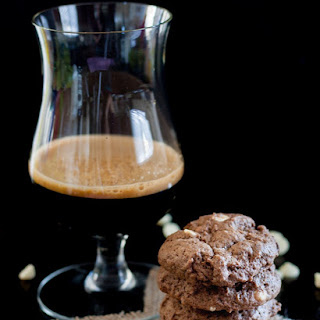Chocolate Coffee Stout Beer Cookies