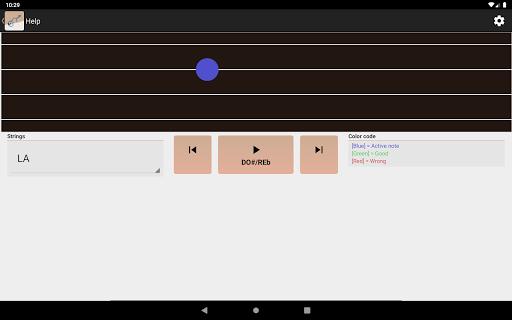 NDM - Screenshots der Violine (Lesen der Notenschrift lernen) 5