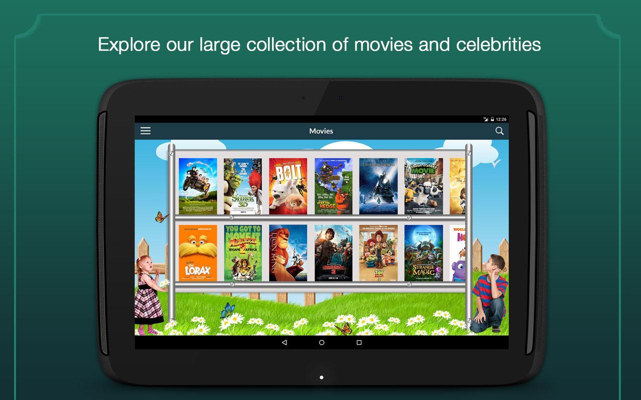 Animated Movies Screenshot