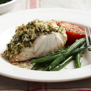 Herb Crusted Fish.