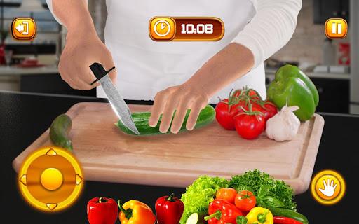 Virtual Chef Cooking Game 3D: Super Chef Kitchen apkdebit screenshots 11