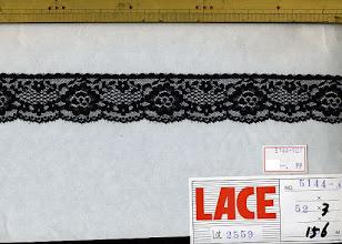 Photo: №5144-907ラッセル黒:巾32mm