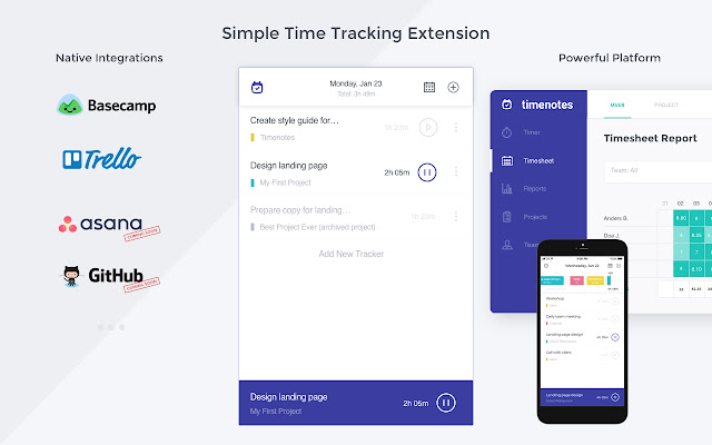 Timenotes - Time Tracker