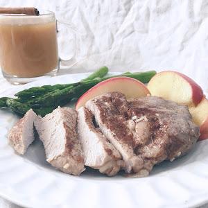 Apple Cider Pork Loin Cutlets