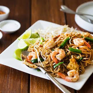 Shrimp Pad Thai for Two.
