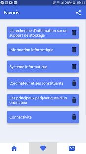 QCM-Cours en informatique for PC-Windows 7,8,10 and Mac apk screenshot 3