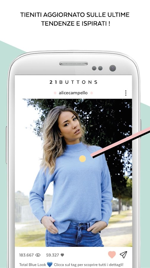 21 Buttons - Outfit di moda- screenshot