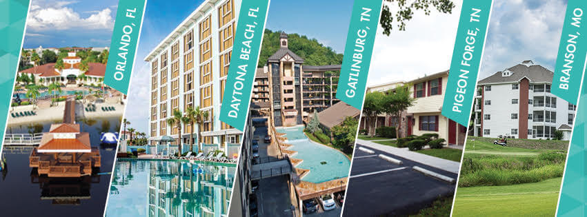 Exploria Resorts Locations
