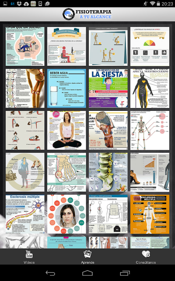 Fisioterapia a tu alcance- screenshot