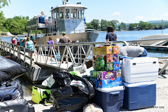 Photo: Bring your supplies via the Island Runner at Burton Island State Park by Raven Schwan-Noble