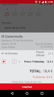 Ticketoday- screenshot thumbnail