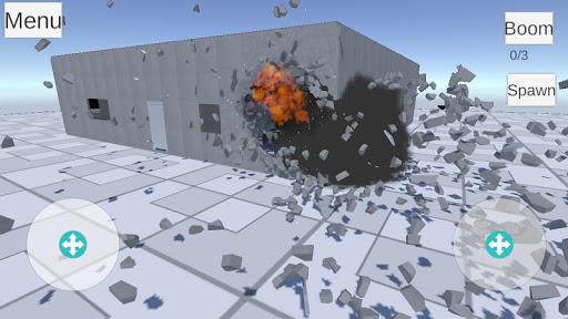 Destruction physics  trampa 5