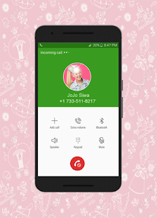 Call From Jojo Siwa - náhled