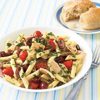 Niçoise Pasta Salad.