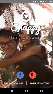 Snappy - Personal Safety App- screenshot thumbnail