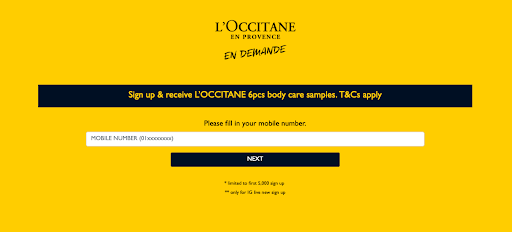 L'Occitane 6pcs Body Care FREE Sample Giveaway 送出免费试用装!