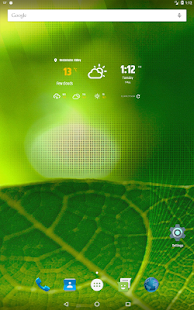 Simple weather & clock widget (no ads) APK image thumbnail 9