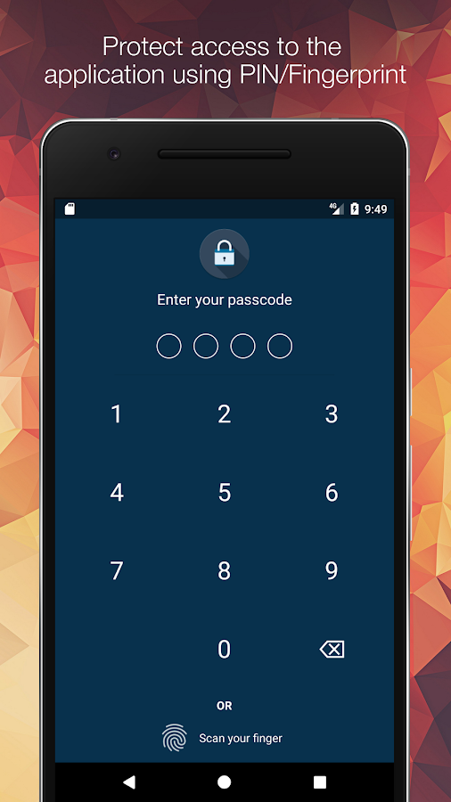 Anti-Theft Screen Lock- screenshot