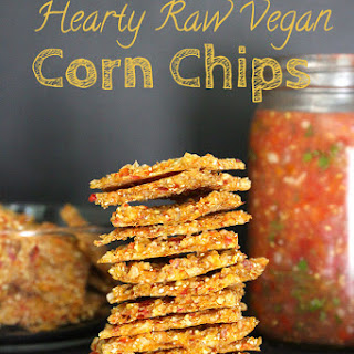 Hearty Raw Vegan Corn Chips