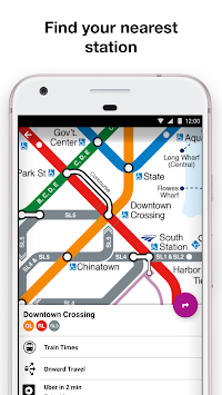 Boston Subway Map App.Download Boston T Mbta Subway Map And Route Planner Apk Latest