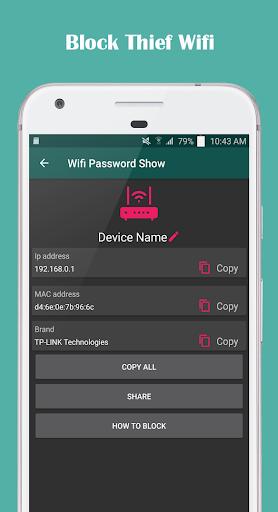 Show Wifi Password - Network Scanner 1.12 screenshots 3