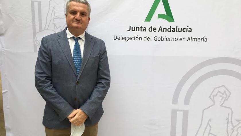 El delegado de Salud y Familia, Juan de la Cruz Belmonte.