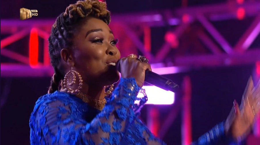 Twitter zones in on Lady Zamar's Idols SA outfit. Again!