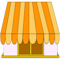 Night restaurant icon