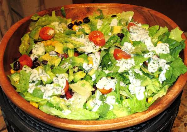 Southwestern Chopped Salad-cilantro Lime Dressing Recipe