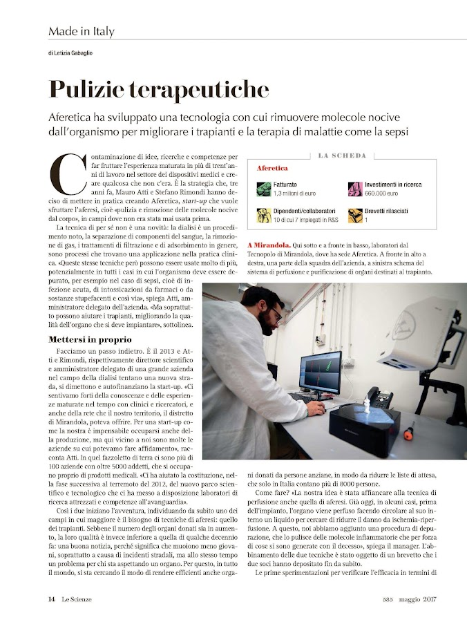 Le Scienze- screenshot