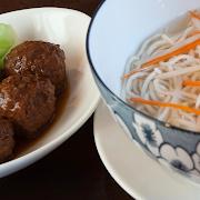 Soup Noodles with Shanghai Braised Pork Balls