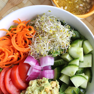 California Veggie Power Salad