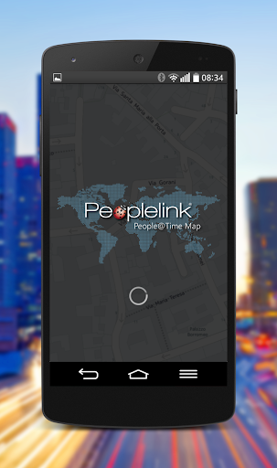 People Time Map