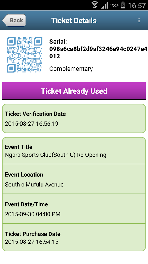 KAPS TICKETS MERCHANT- screenshot