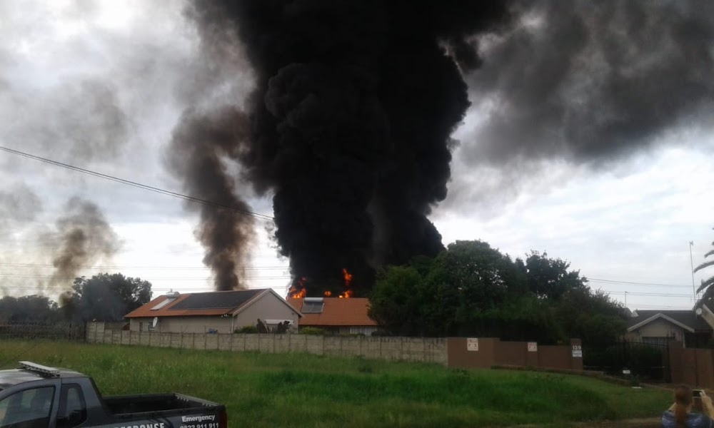 Pipeline explosion on the East Rand sees homes evacuated