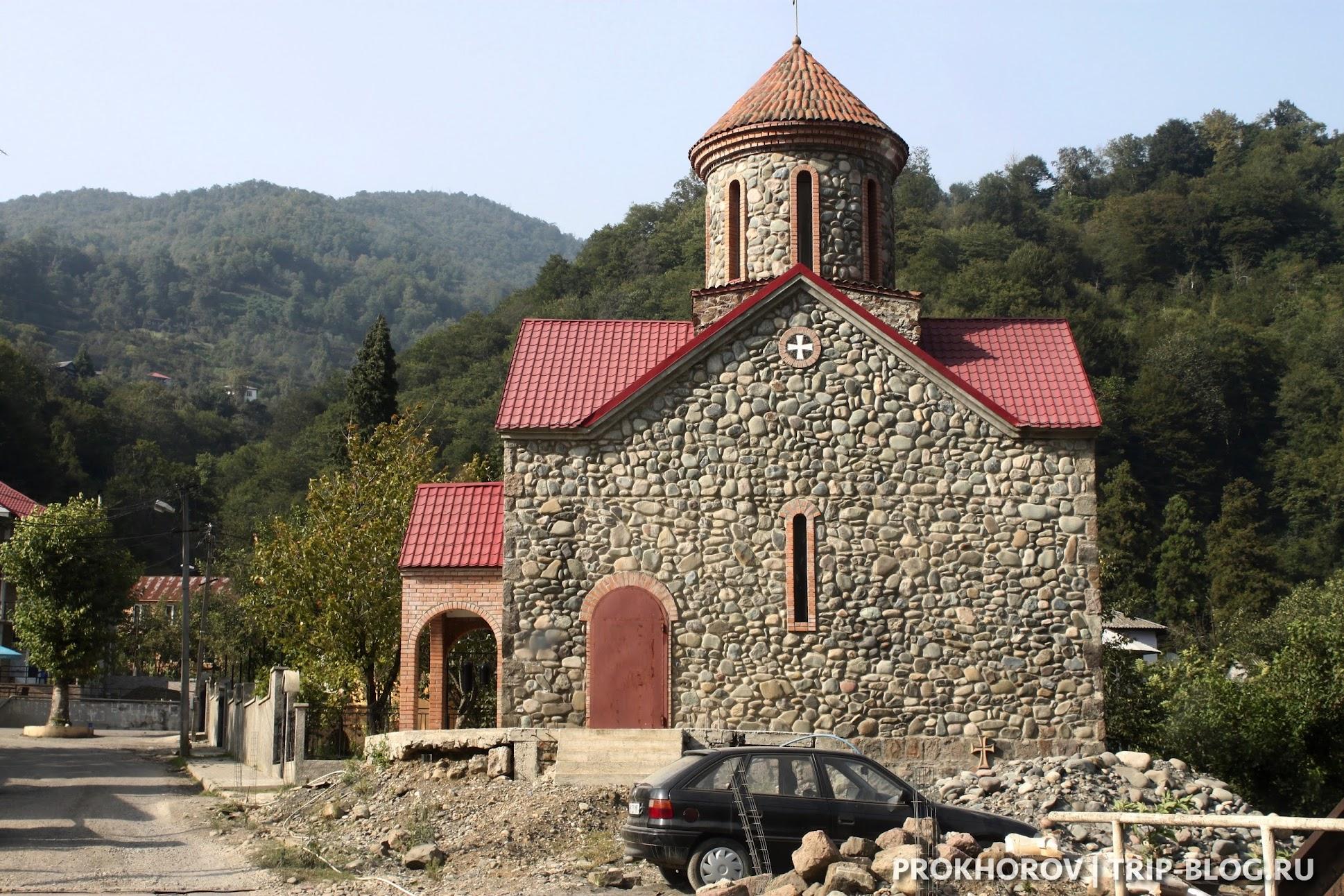 Церковь вАкаристскали